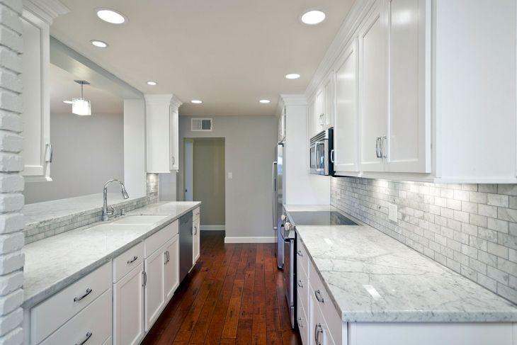 White Granite Kitchen 240