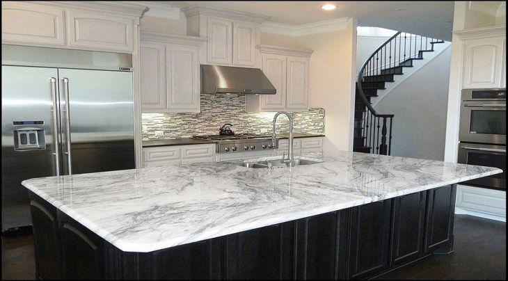 White Granite Kitchen 250