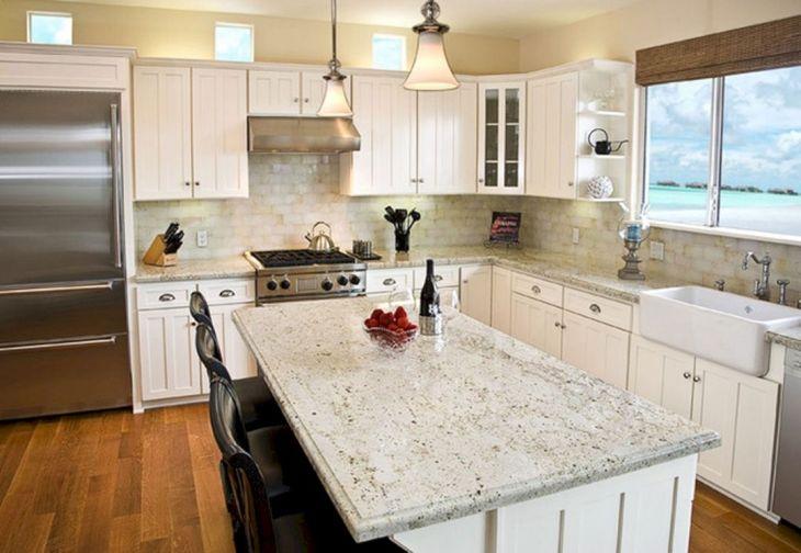 White Granite Kitchen 280