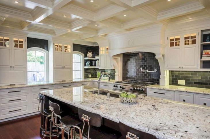 White Granite Kitchen 30