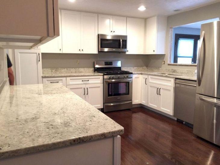 White Granite Kitchen 320