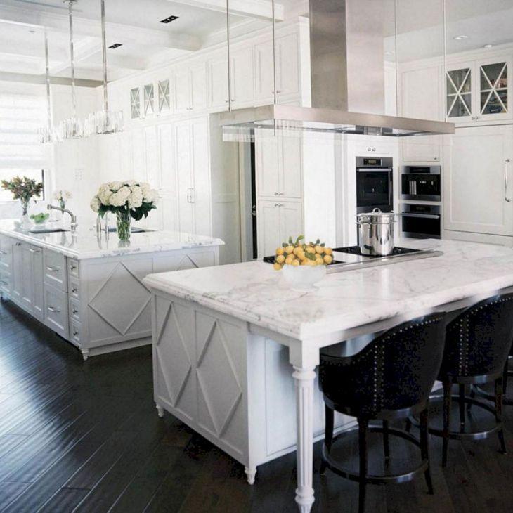 White Granite Kitchen 60