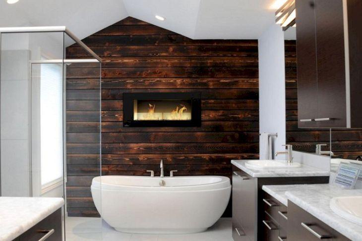 Bathroom Wall Wood Ideas