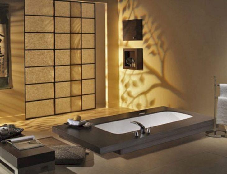 Bathroom with Japanese Home Interior Design 1