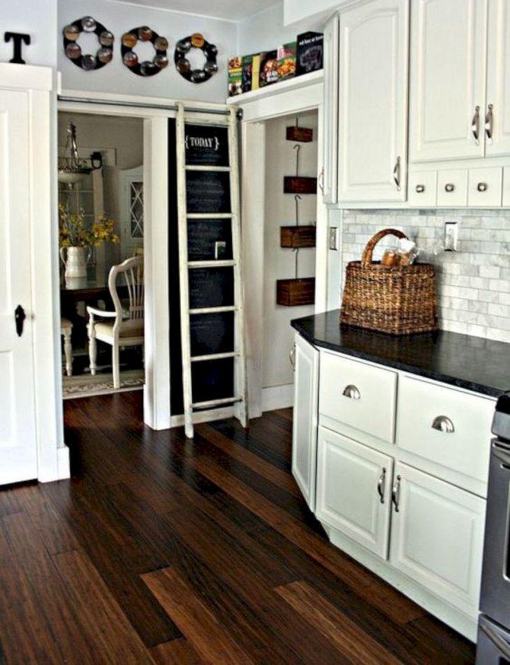 Black Bamboo Flooring Kitchen 006