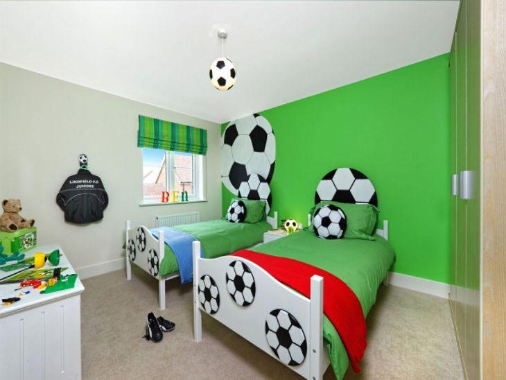 Children's bedroom with Sports Room Design 1