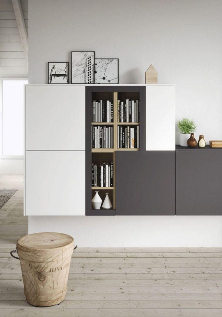 Contemporary Living Room Storage Ideas 21
