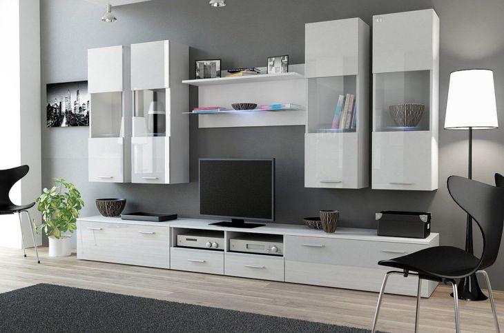 Contemporary Living Room Storage Ideas 22