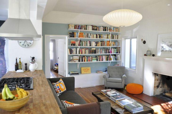 Contemporary Living Room Storage Ideas 24