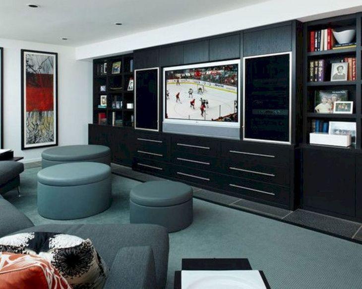 Contemporary Living Room Storage Ideas 25