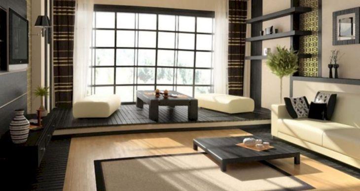 Japanese Living Room Design Ideas 1