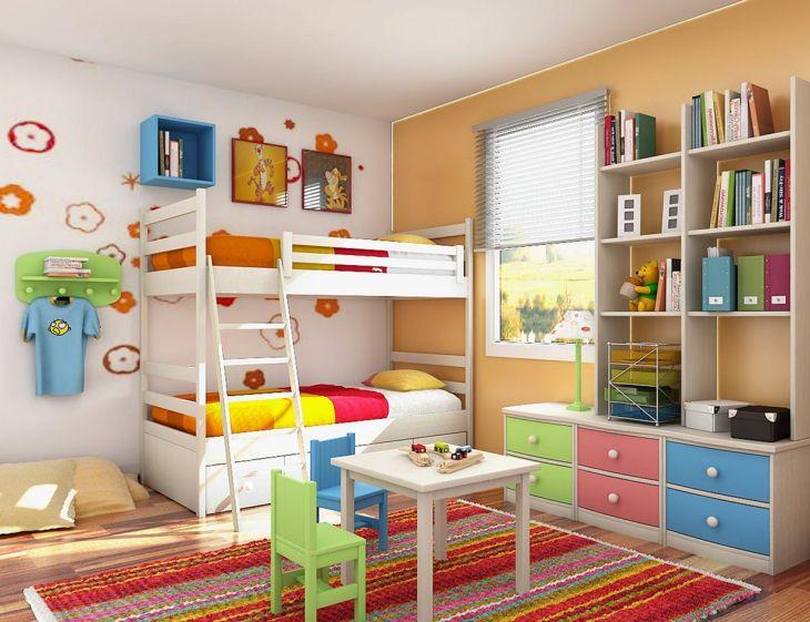 Kids Room Storage Design 0014