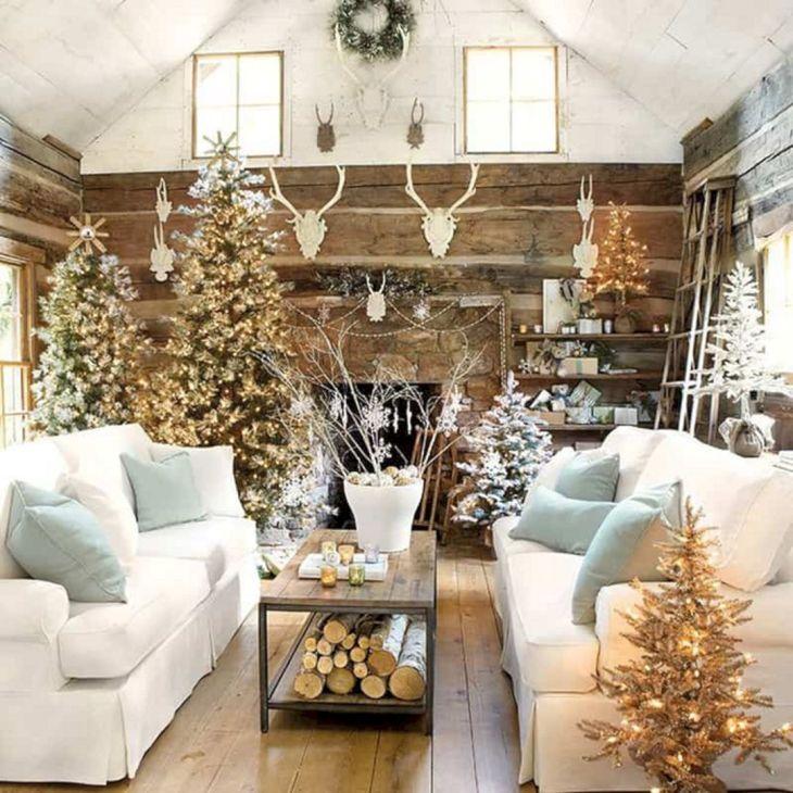 Living Room Christmas Decor 1016