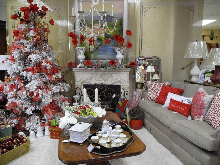 Living Room Christmas Decor 1022