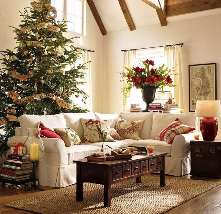 Living Room Christmas Decor 1024