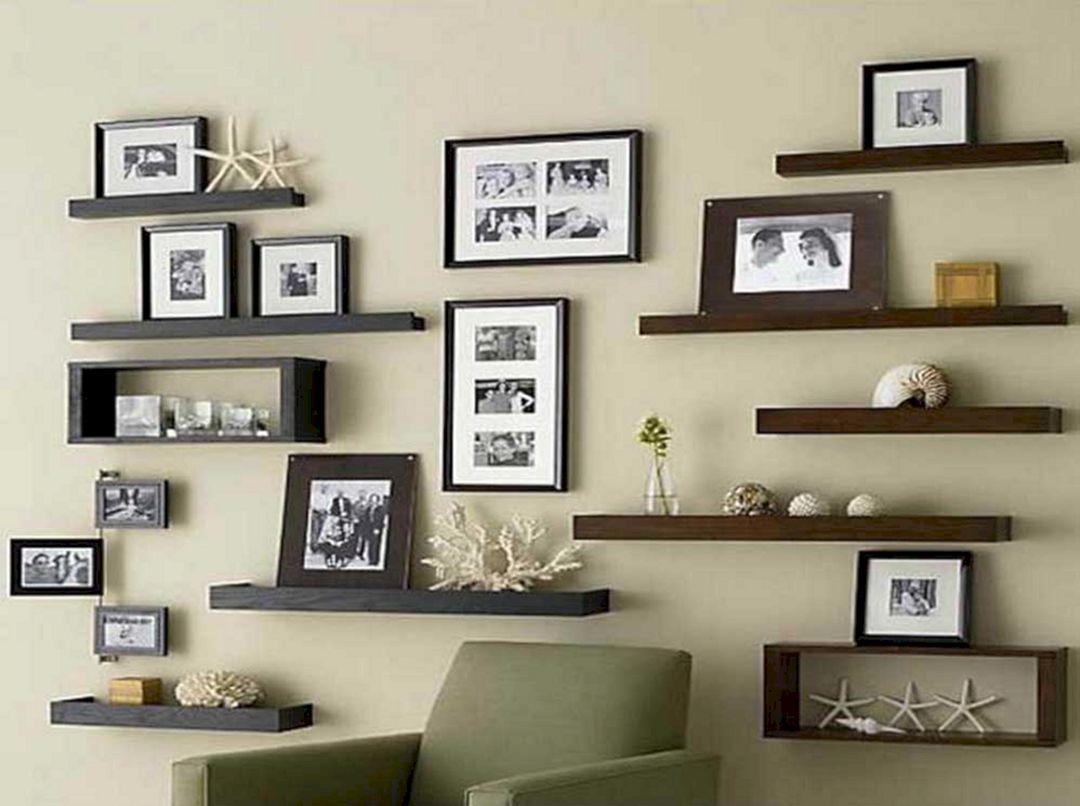 Living Room Floating Shelves Ideas 18 Decoredo