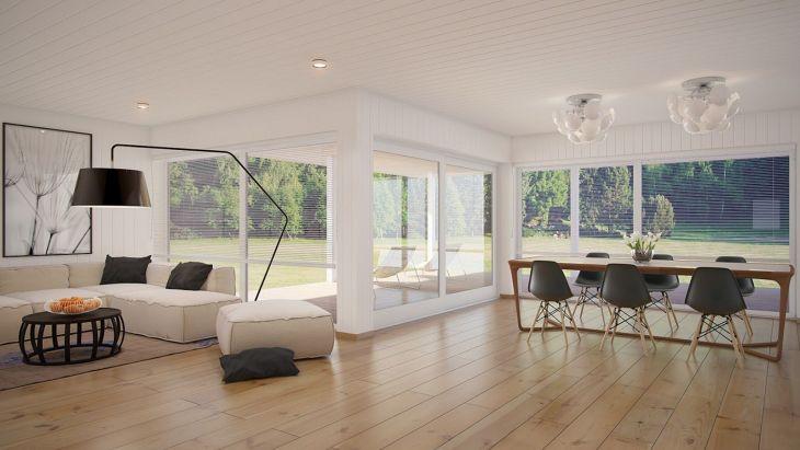 Living Room Open Space Design 1101