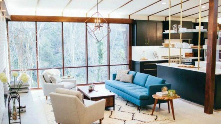 Living Room Open Space Design 2201