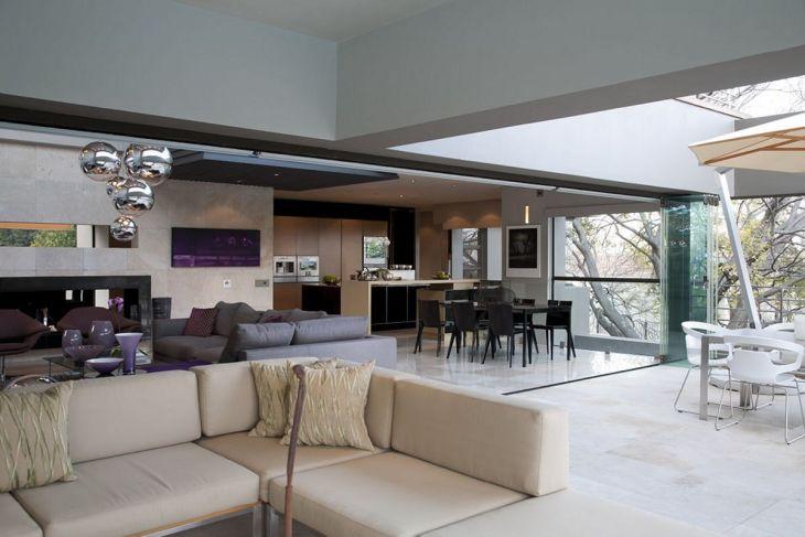 Living Room Open Space Design 701