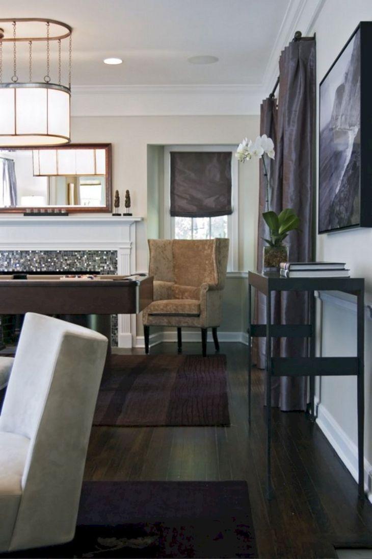 Living Room With Dark Wood Floors 180