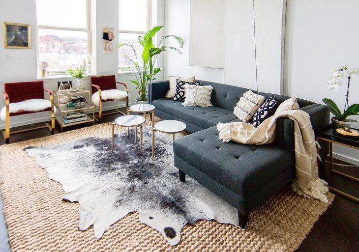 Rug Layering As Floor Coating 2