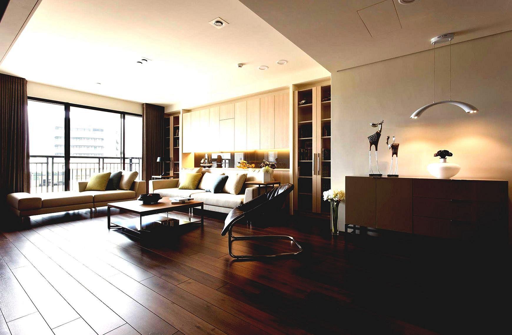 Apartments Studio Design With Wood Floor