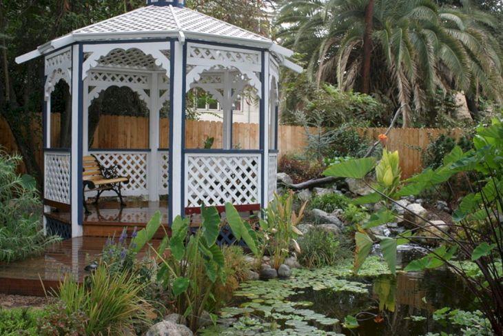 Beautiful Garden Decoration with a Gazebo