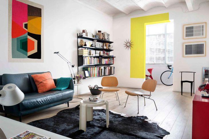 Bright Color Apartment Studio