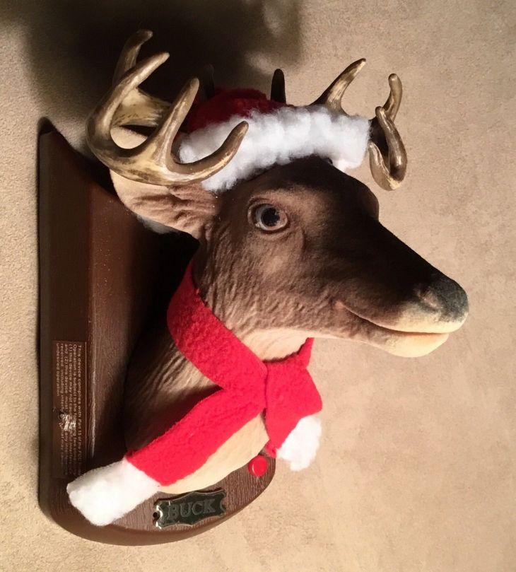 Christmas Deer face