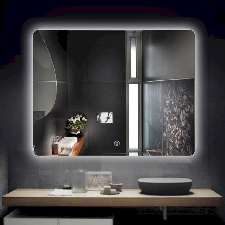Frameless Glass Bathroom with Backlight Ideas