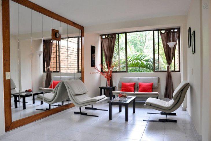Living Room Mirror Design