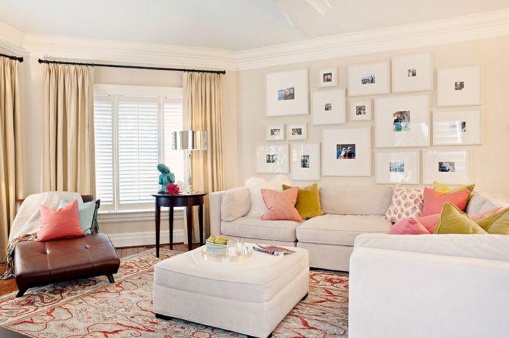 Minimalist Living Room Wall Gallery