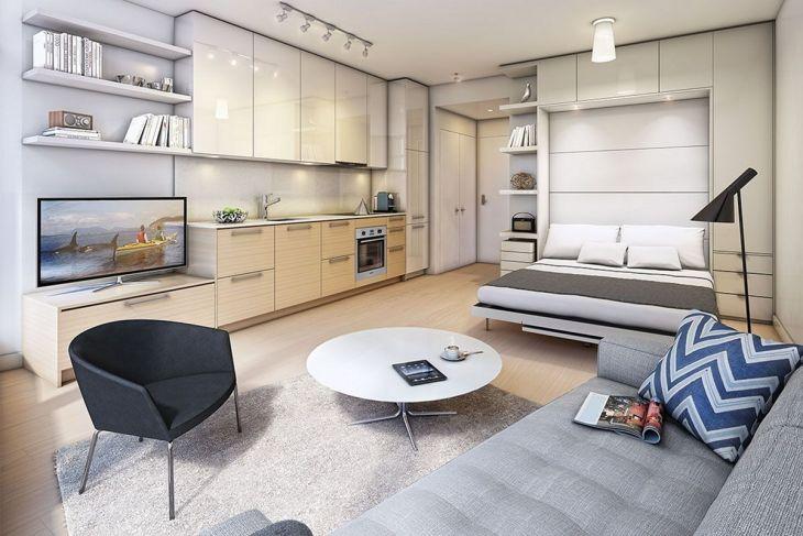Modern Apartment Studio Idea