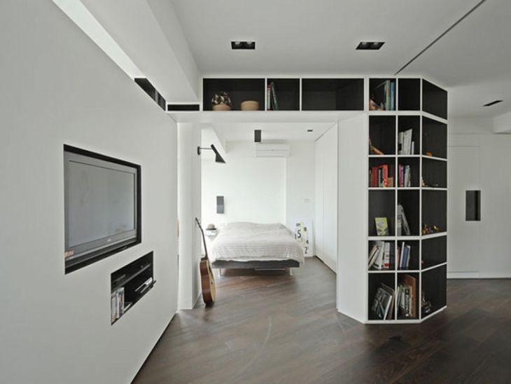 Partition For Studio Apartment Design