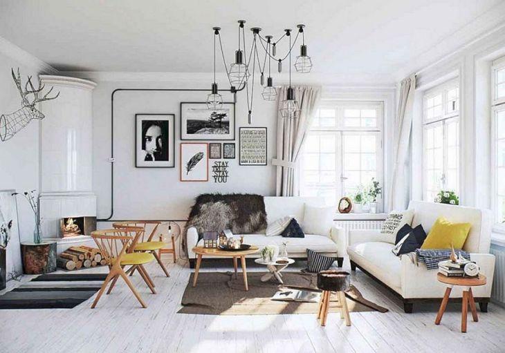 Scandinavian Chic For Studio Apartment Design
