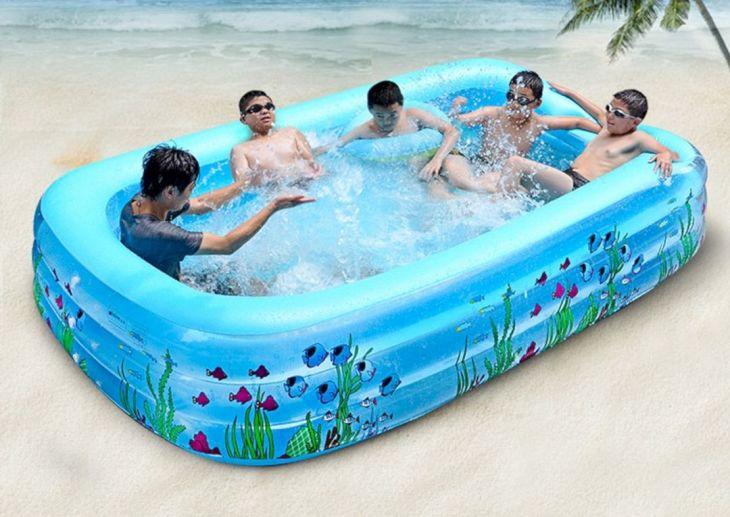 Simple Inflatable Pools