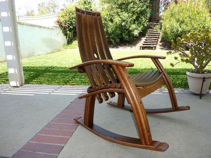 Swaying Minimalist Patio Chair