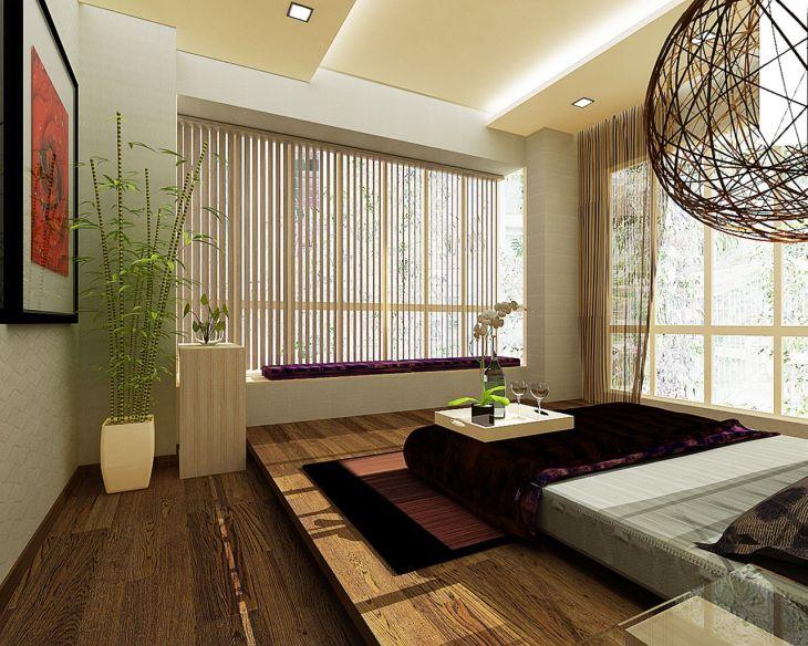 Zen Living Room Idea