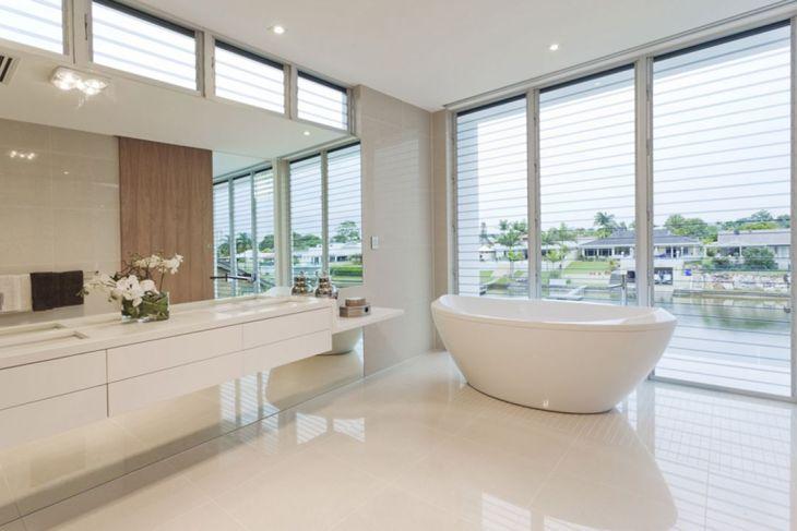 Bathroom Semi Open Design 1