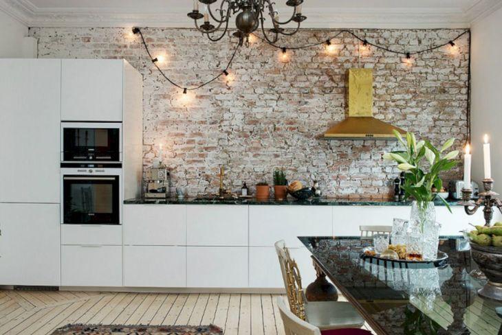 Brick Wall Kitchen Ideas Source decoholic org