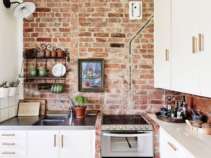 Brick Wall Kitchen Ideas Source obatantistres com