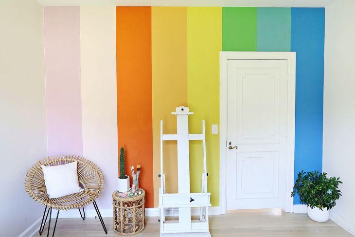 Bright Colored Walls Ideas