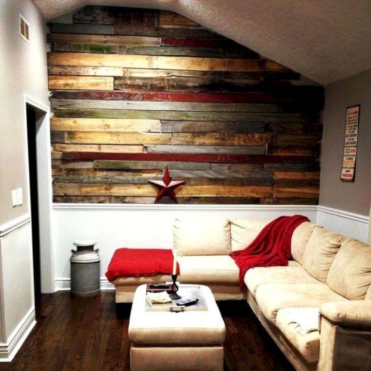 Living Room Wall Pallet Ideas