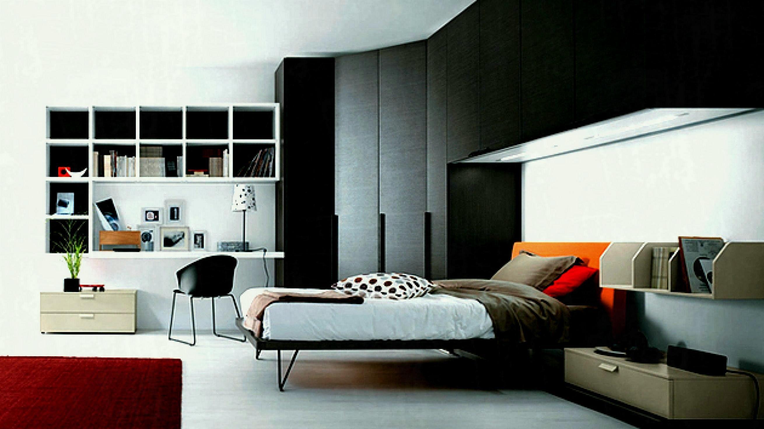 Minimalist Bedroom For Teen