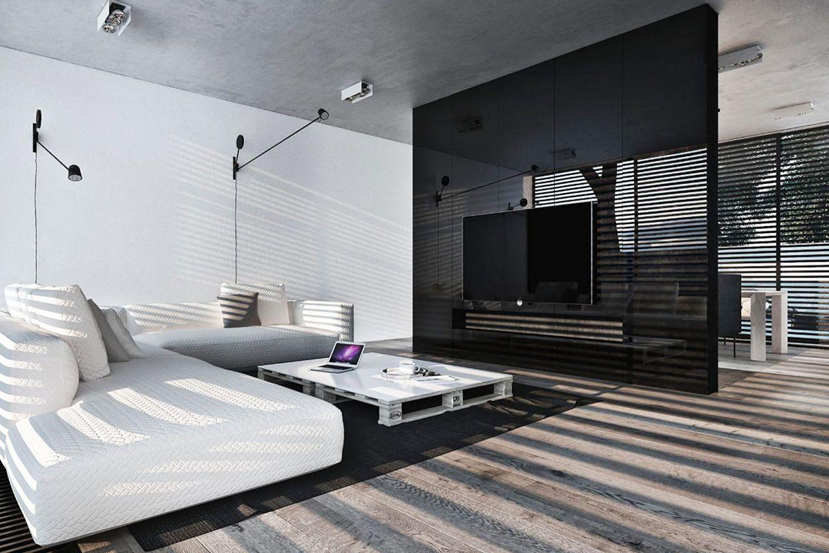 Minimalist Home Design with Monochrome