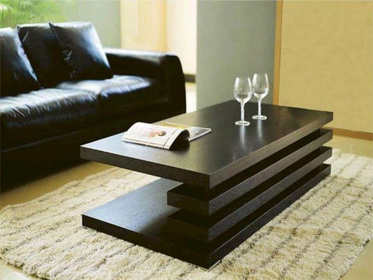 Minimalist Wood Living Room Table ahmedelaich com