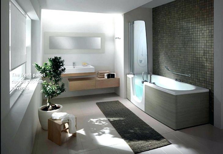 Modern Bathroom with Unique Bathtub 1