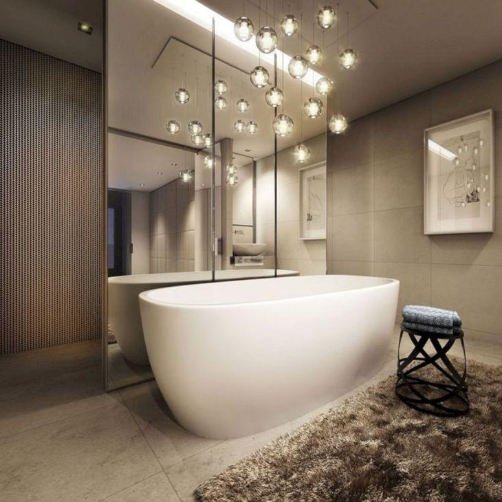 Modern Bathroom with Unique Bathtub 2