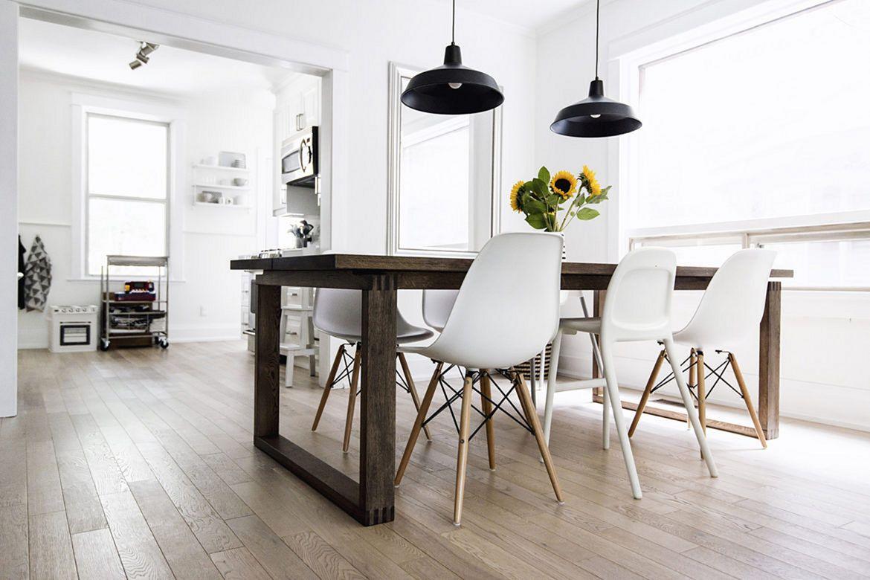 Scandinavian simple dining Room