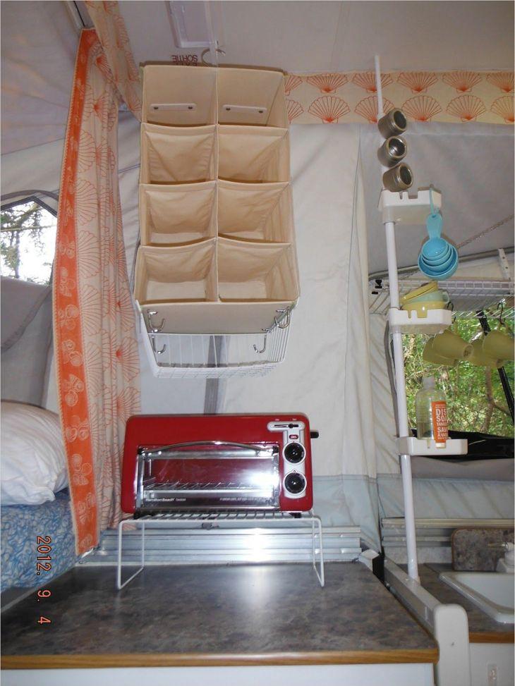 Simple RV Camper Storage Design Source: gongetech com